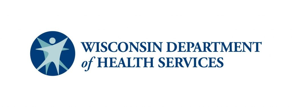 Wisconsin Department of Health Services logo.
